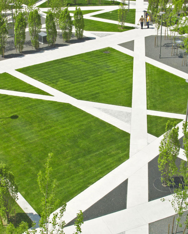 Scholars green park by gh3 landscape architecture works for Form garden architecture