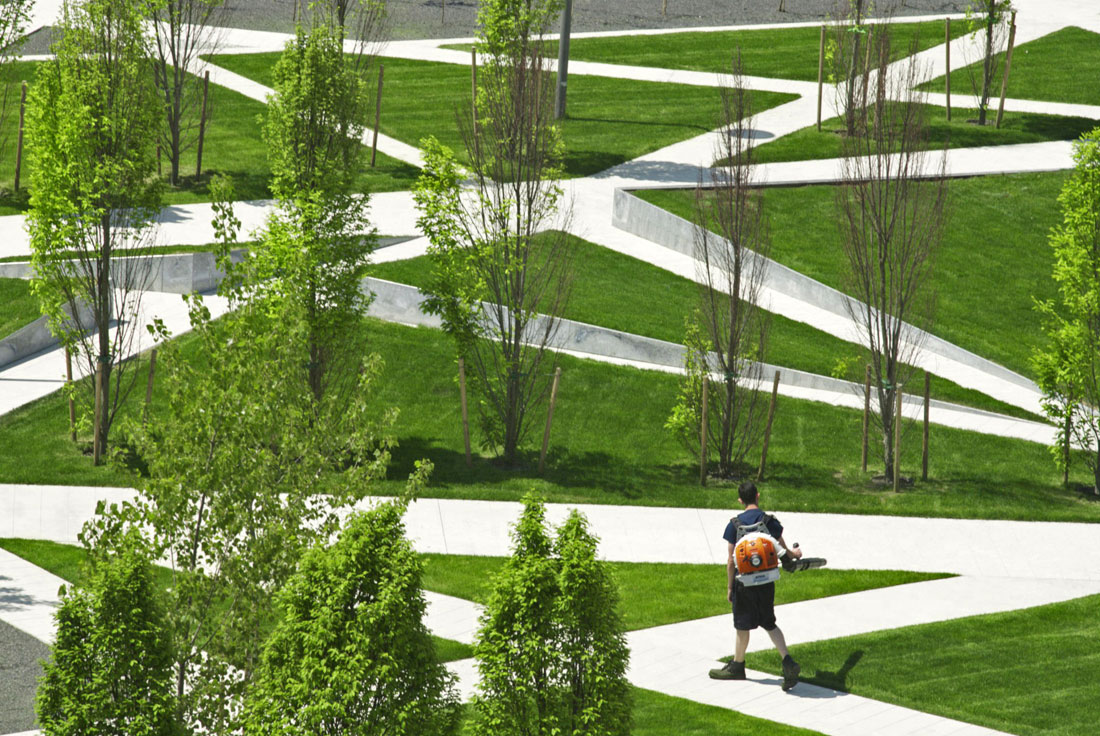 Scholars green park by gh3 landscape architecture works for Park landscape design