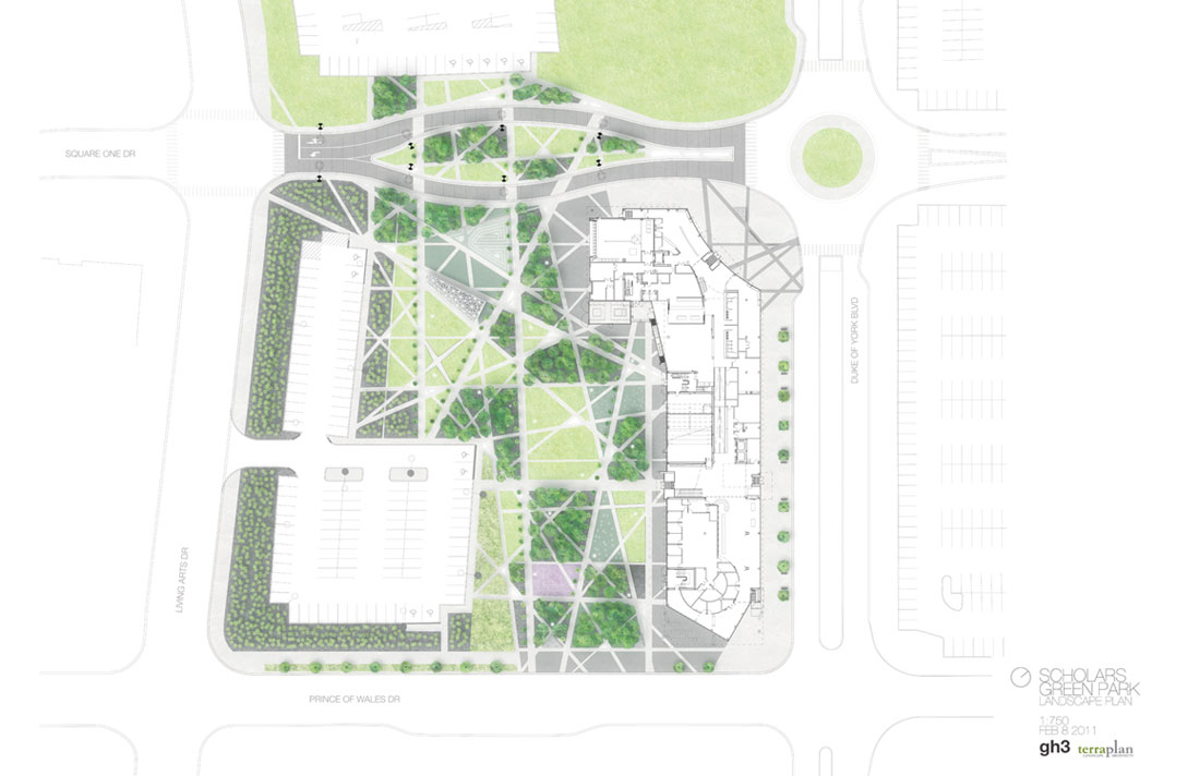 Scholars green park by gh3 landscape architecture works Green plans