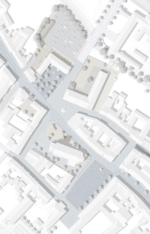 Friedensplatz And Rossmarkt Worbis By F Landschaftsarchitektur