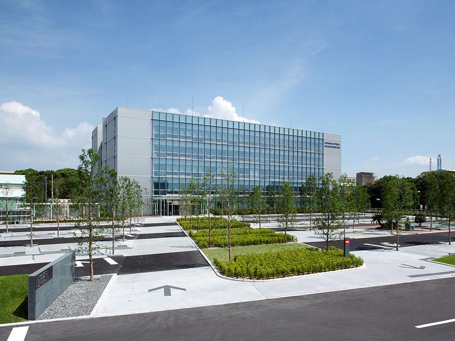 Nse kitakyushu technology center by platdesign landscape for Landscape design center