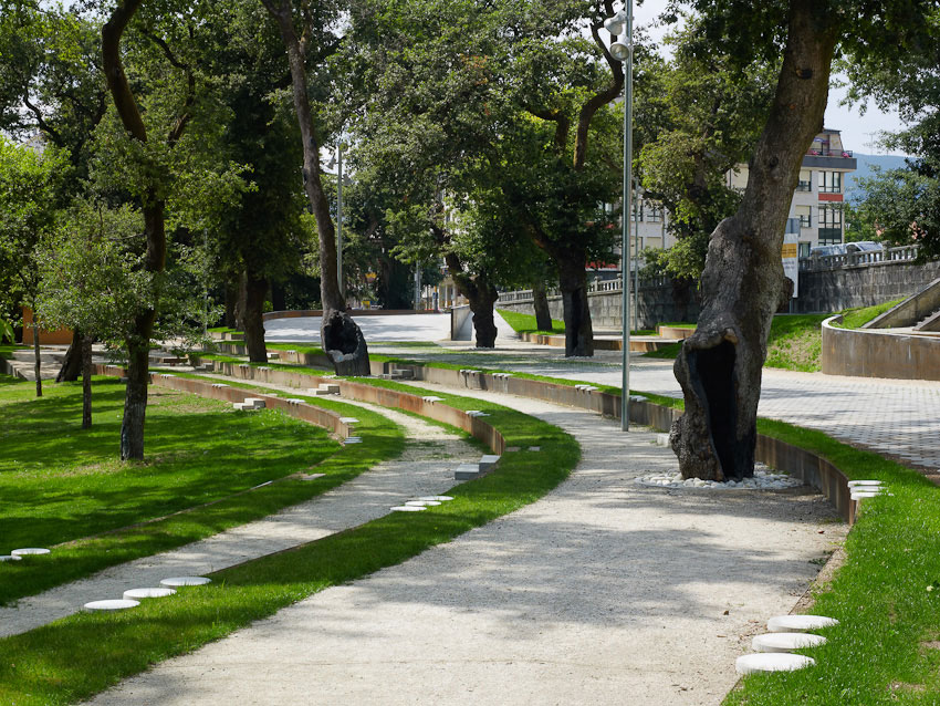 Awesome Redevelopment Of The Park Garden And Carballeira 01 « Landscape  Architecture Works | Landezine. U003e