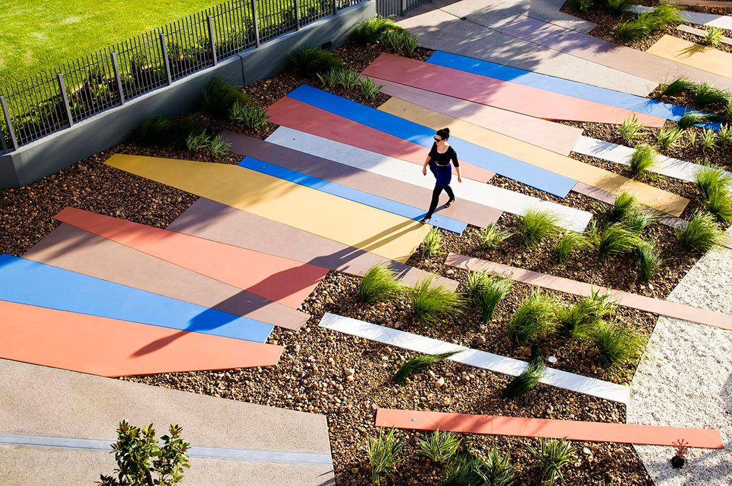 The peninsula at burswood by hassell landscape for Landscape design perth wa
