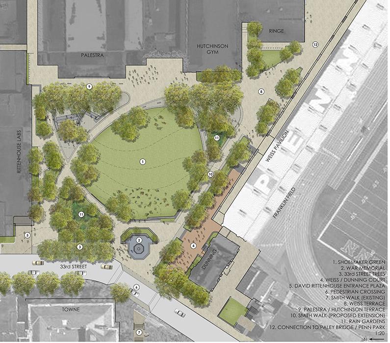 Plan Render Landscape Architecture Works Landezine