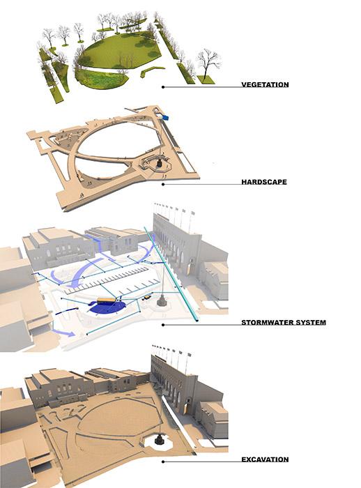 02 Exploded Axon 171 Landscape Architecture Platform Landezine