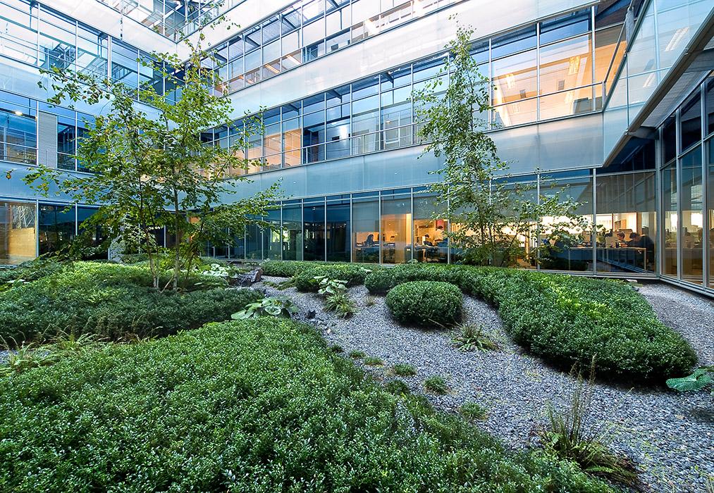 Gorbea 4 Atriums by Studio Urquijo Kastner Landscape