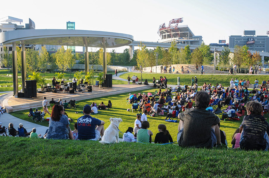Cumberland Park by Hargreaves Associate « Landscape Architecture Works