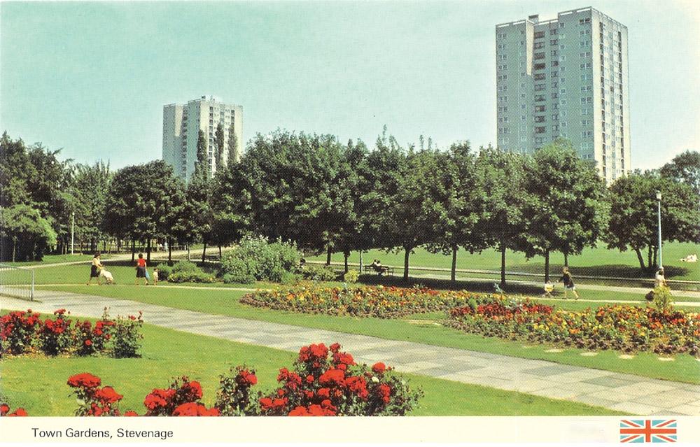 Stevenage town centre gardens by hta landscape landscape for Garden design 1970s
