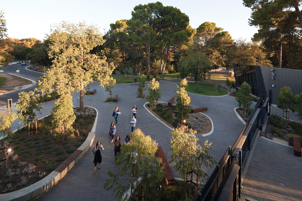 Adelaide zoo entrance precinct and giant panda forest by for Landscape architects in adelaide
