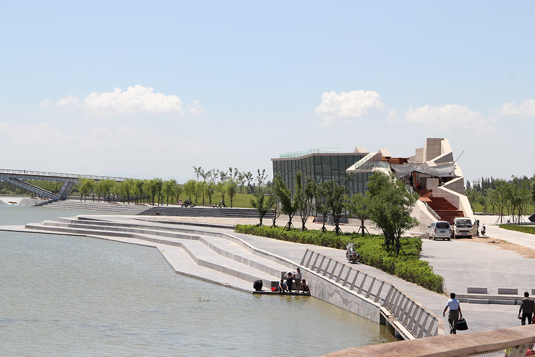 Wenying lake by aecom landscape architecture works for Landscape architecture