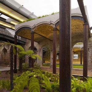 The project converted a disused 19th Century reservoir into a public garden in an inner city suburb of Sydney. The project sought to subtly foster and maintain the strange atmosphere found in the subterranean structure.