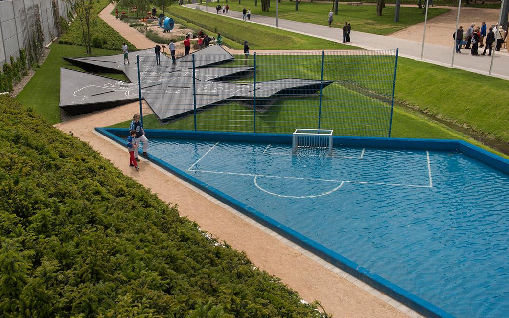 Aqua Soccer And Dymaxion Golf By Topotek1 171 Landscape