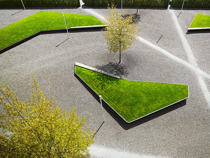 Cantonal high school wil by studio vulkan for School landscape design