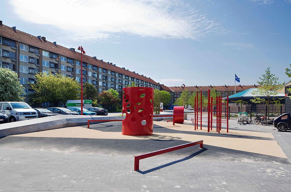 Plaza At Bavnehøj Arena by Opland Landskabsarkitekter « Landscape Architecture Works