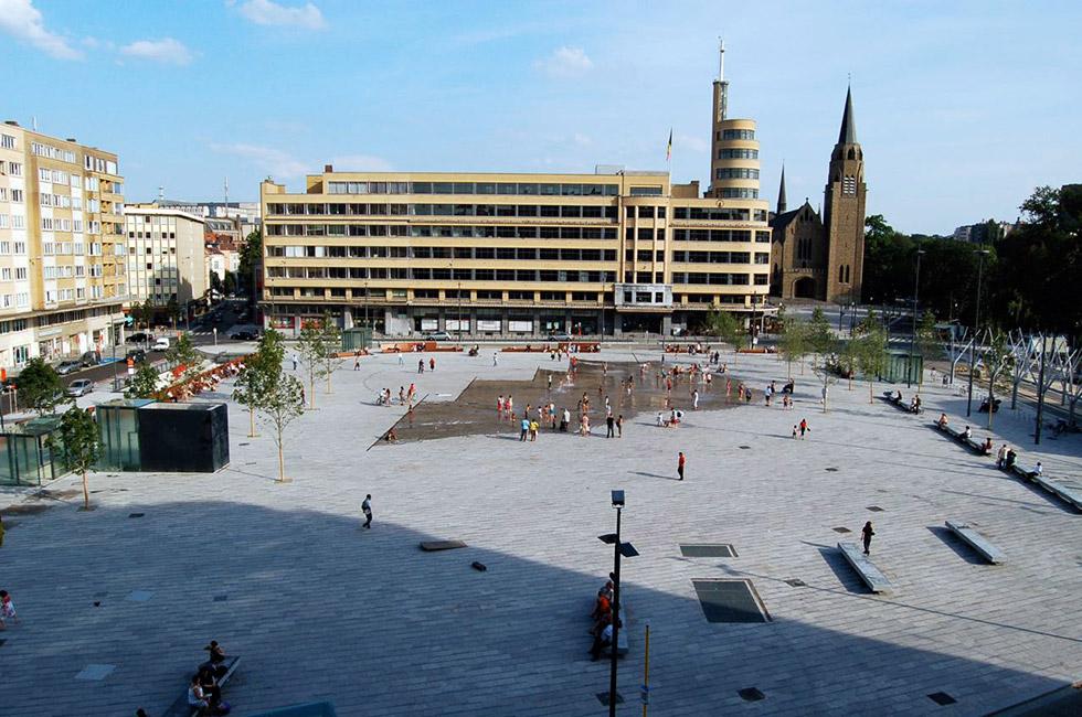 Place flagey by latz partner « landscape architecture platform