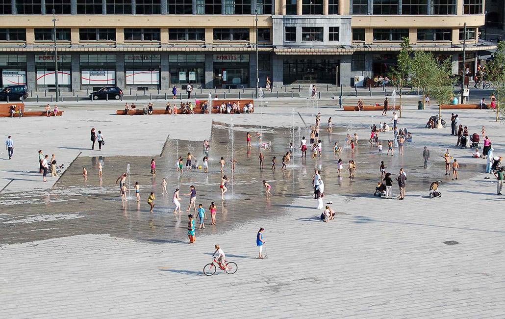 Place flagey by latz partner « landscape architecture works