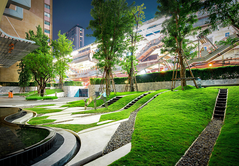 The forest pyne by sansiri by trop landscape for Spaces landscape architecture