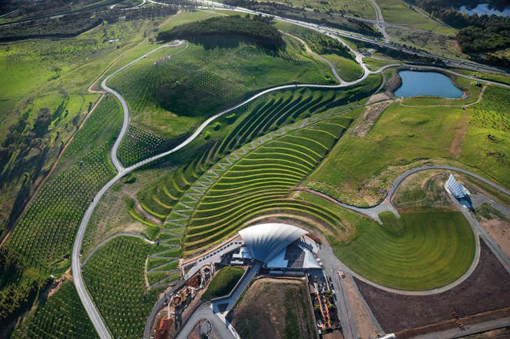 National arboretum canberra by taylor cullity lethlean for Landscape architect canberra