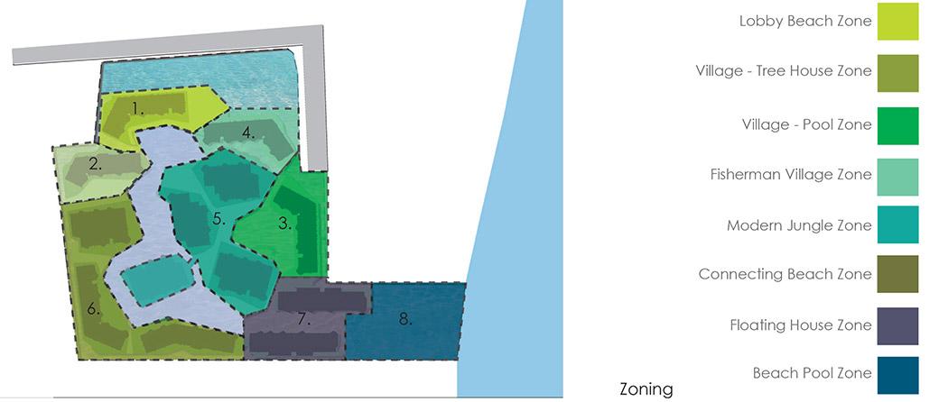 Baan san kraam sanitas studio landscape architecture 34 for Architecture zoning