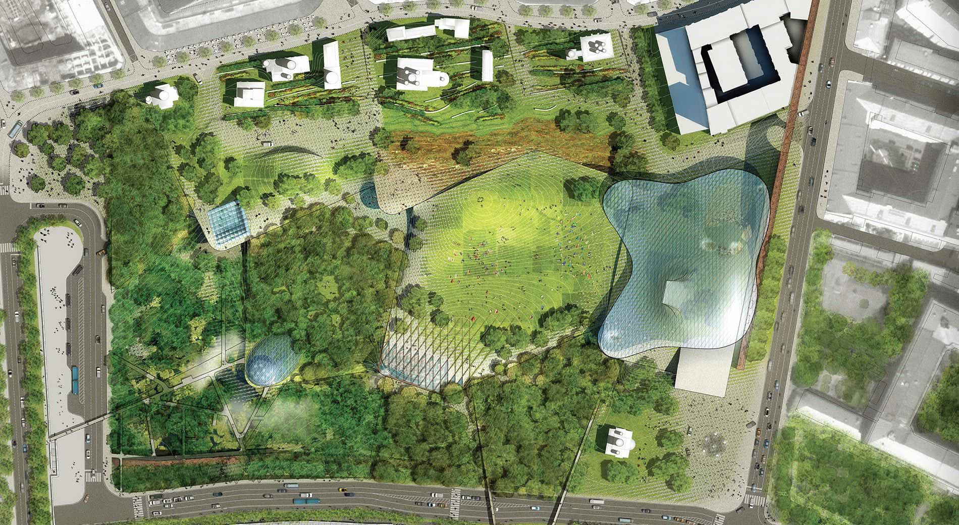 Zaryadye 1 place by diller scofidio renfro 01 landscape for Place landscape architecture