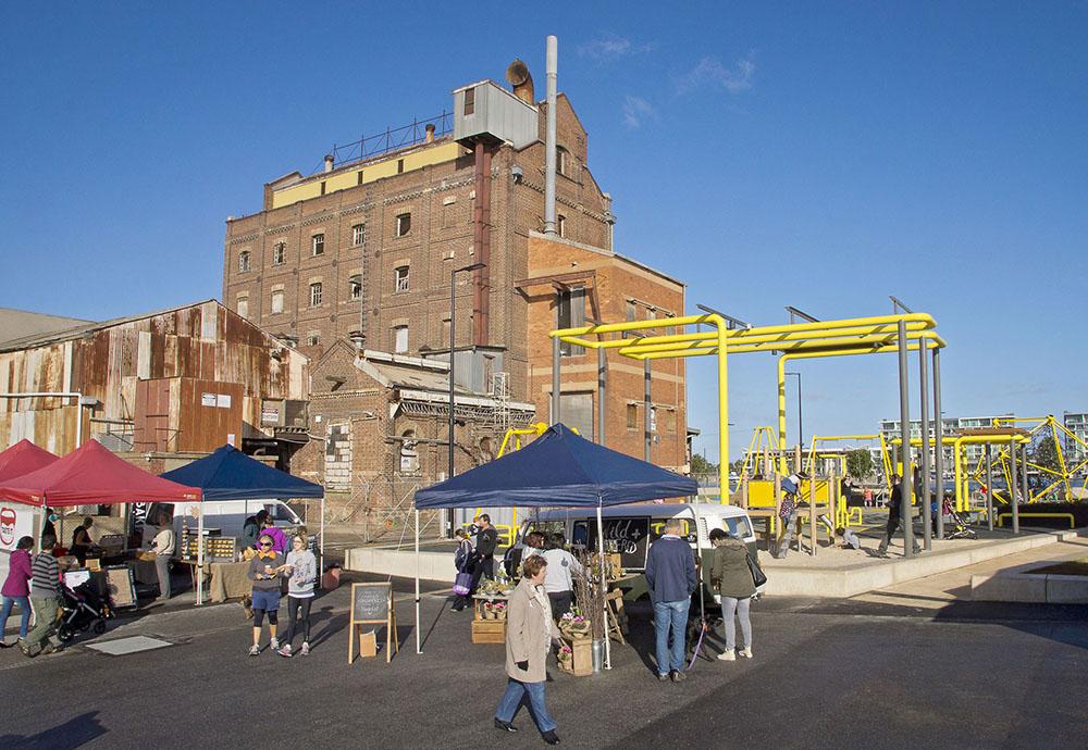 Hart's Mill Surrounds by ASPECT Studios « Landscape Architecture Works
