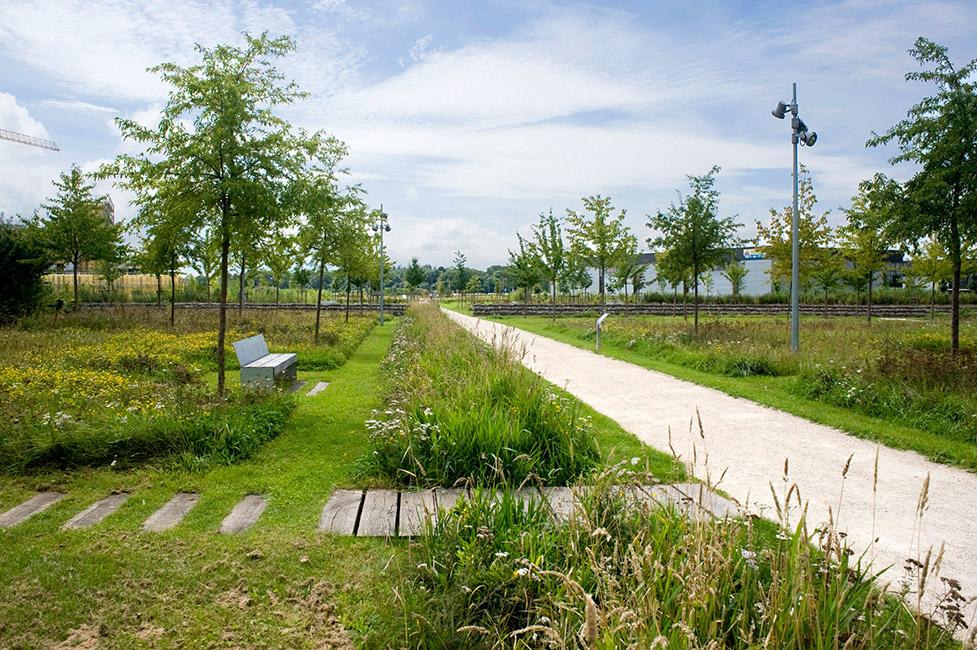 mont evrin park by urbicus landscape architecture works landezine. Black Bedroom Furniture Sets. Home Design Ideas