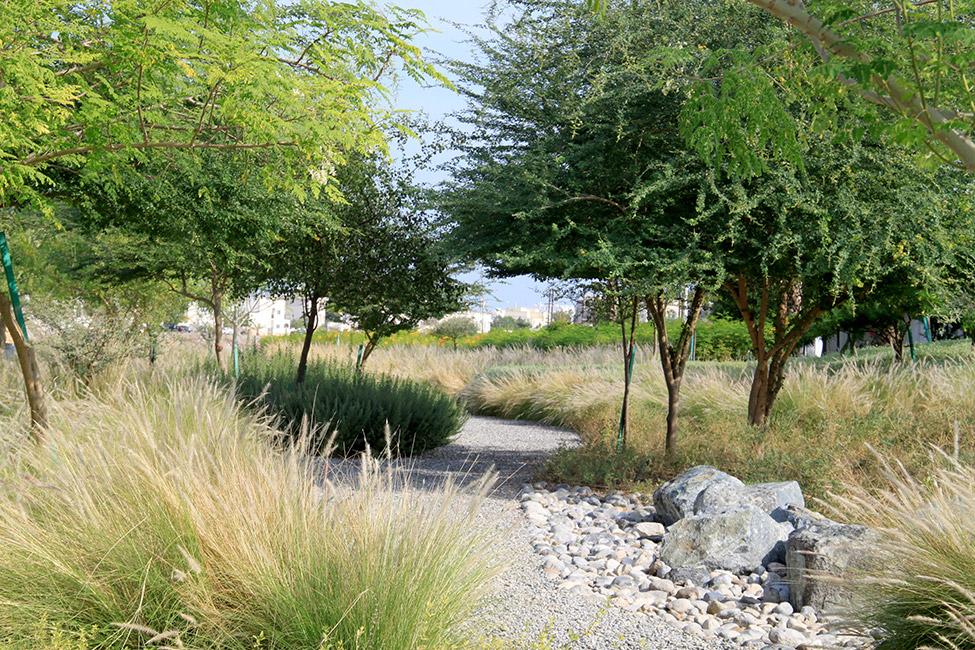 Wadi al azeiba by atelier jacqueline osty associ s for Wadi in tuin