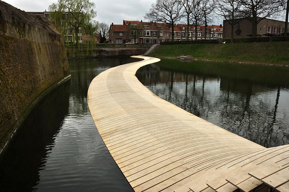 The ravelijn bridge by ro ad architecten 07 landscape for Ad architects