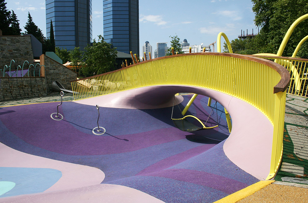 Playground at Zorlu Centre by Carve « Landscape Architecture Works