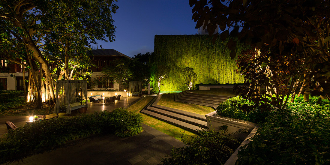 137 pillars house chiang mai thailand p landscape 12 for House garden hotels by design
