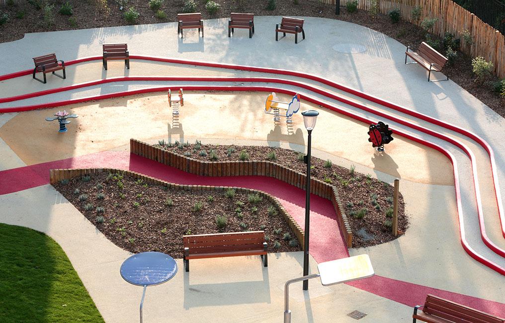 aire de jeux espace libre2 landscape architecture works landezine. Black Bedroom Furniture Sets. Home Design Ideas