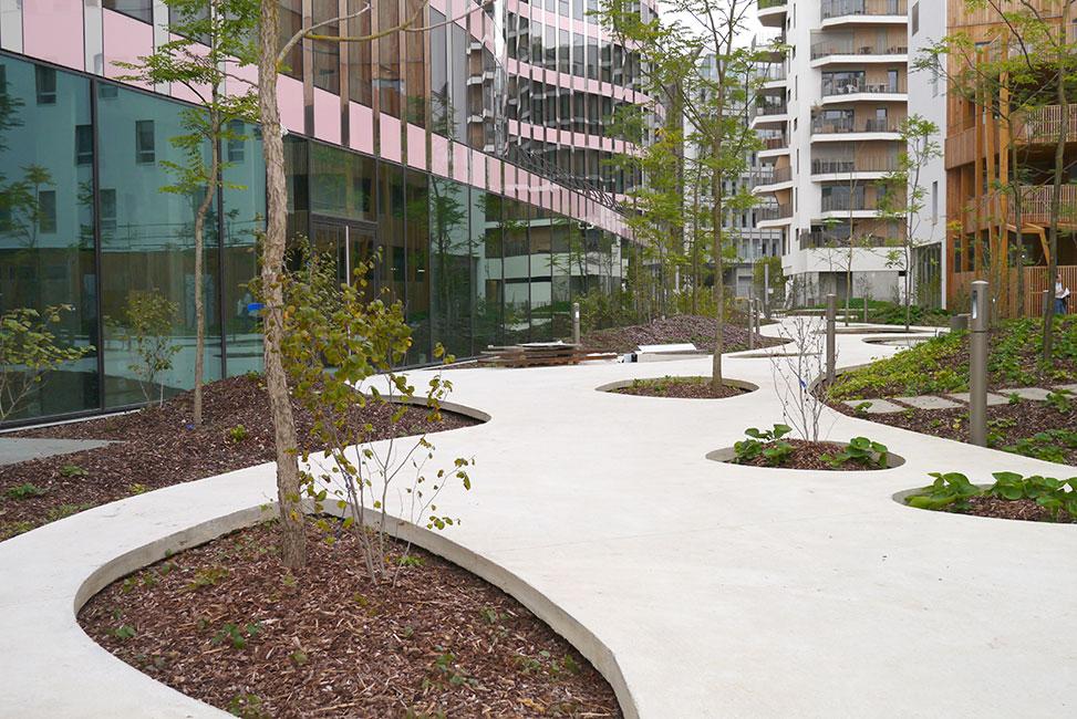 Central Garden Block B4 By TN+ Landscape Architects U00ab Landscape Architecture Works | Landezine