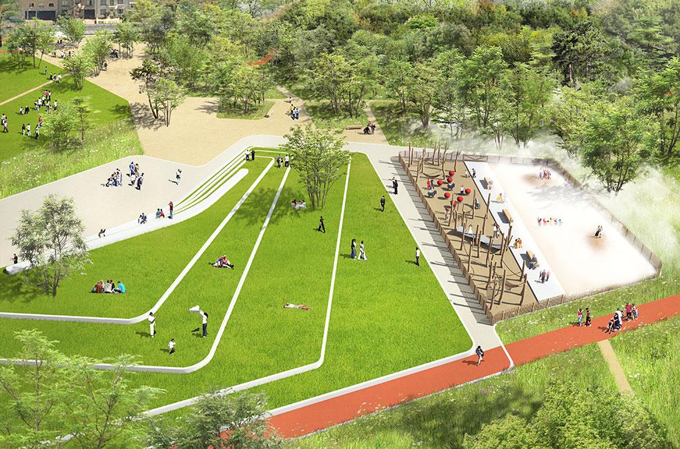 Clos Layat Park by BASE Landscape Architecture « Landscape Architecture Works   Landezine