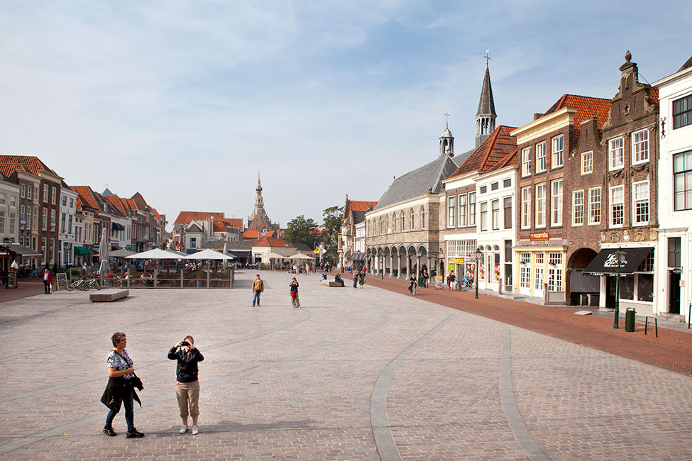 Havenplein zierikzee by bureau b b « landscape architecture platform