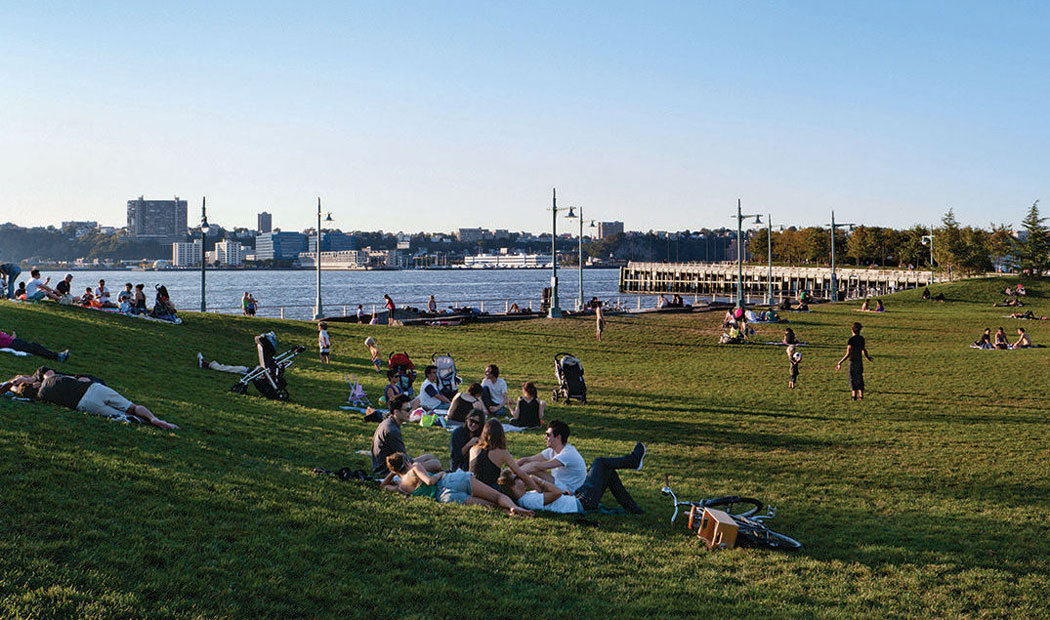 Hudson River Park Segment 5 By Michael Van Valkenburgh