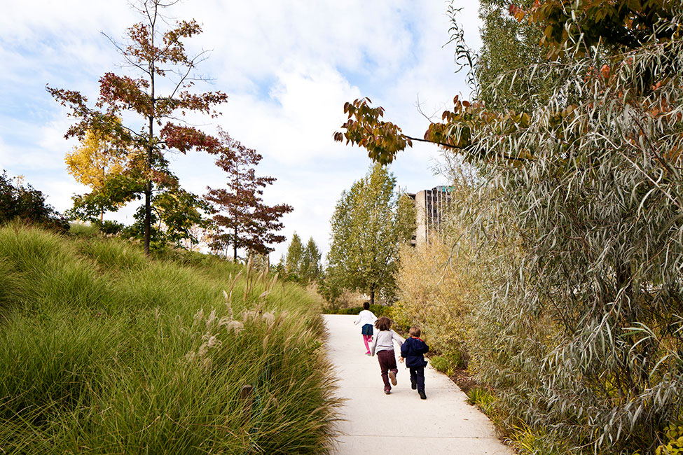 Martin Luther King Park by Atelier Jacqueline Osty