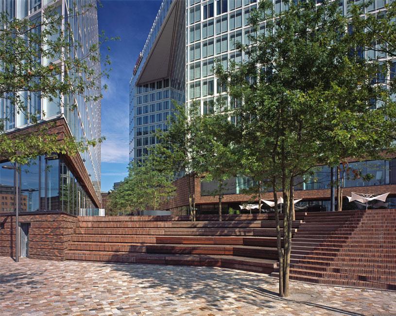 Architekturfotografie Hamburg wes ericusspitze hamburg 06 treppenanlage foto juergen voss
