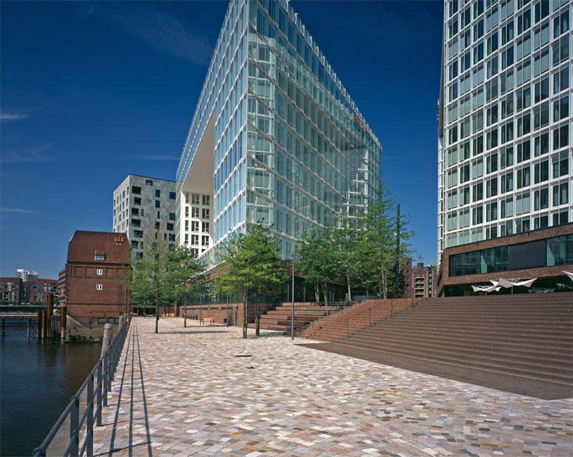 Architekturfotografie Hamburg wes ericusspitze hamburg 07 treppenanlage foto juergen voss
