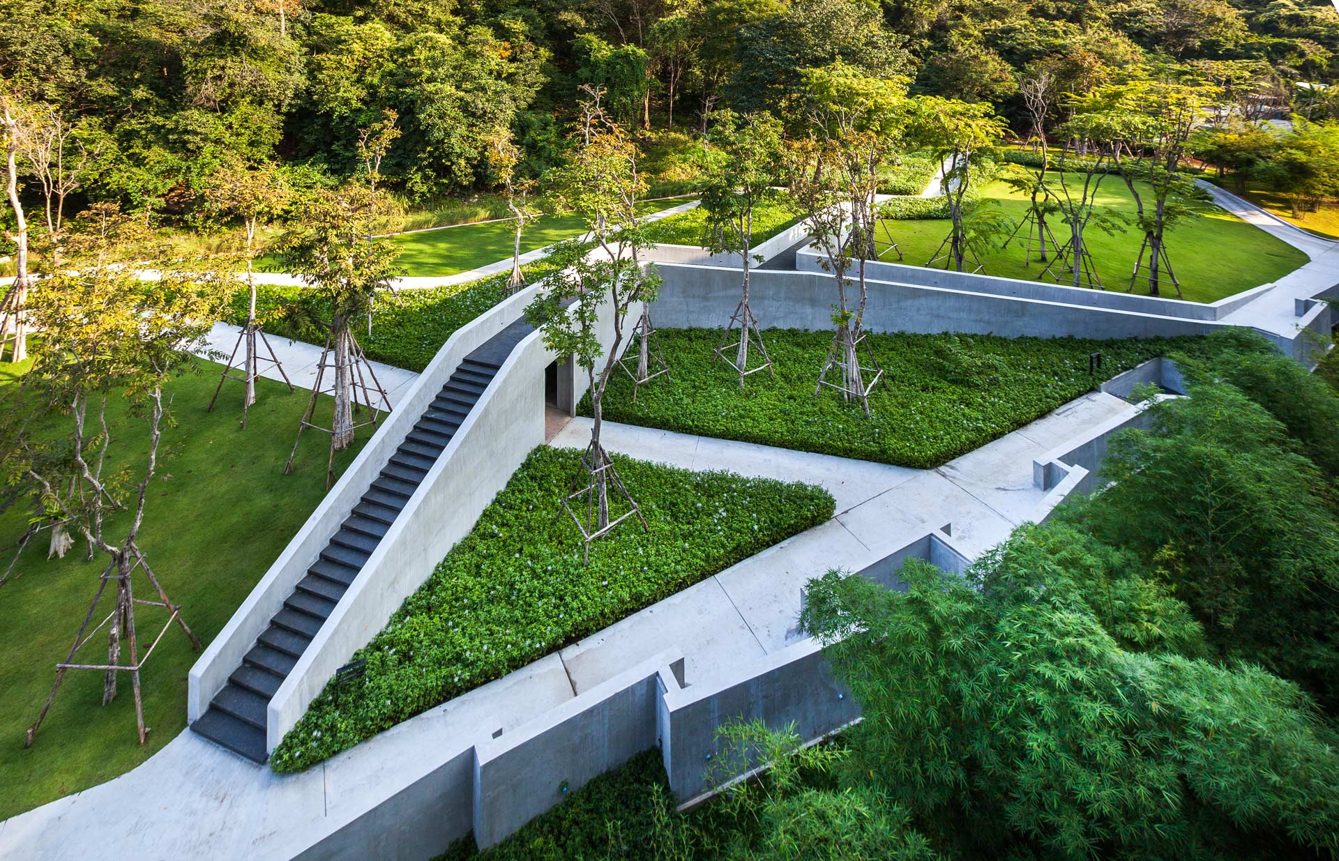Tourist resort landscape architecture botanica khao yai for List of landscape architects