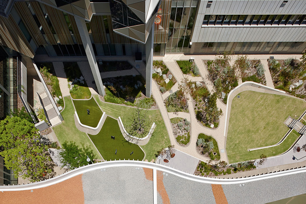 Fiona stanley hospital by hassell landscape architecture - Hospital planning and designing books pdf ...