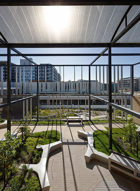 Fiona Stanley Hospital By Hassell 171 Landscape Architecture