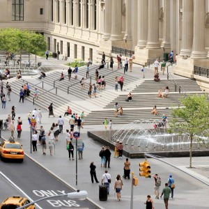 Along the length of the landmarked Fifth Avenue façade, OLIN's design for The Metropolitan Museum of Art's four-block-long plaza enhances one of New York City's most significant public gathering spaces. OLIN led the design to prioritize the pedestrian experience and create a welcoming urban destination ...
