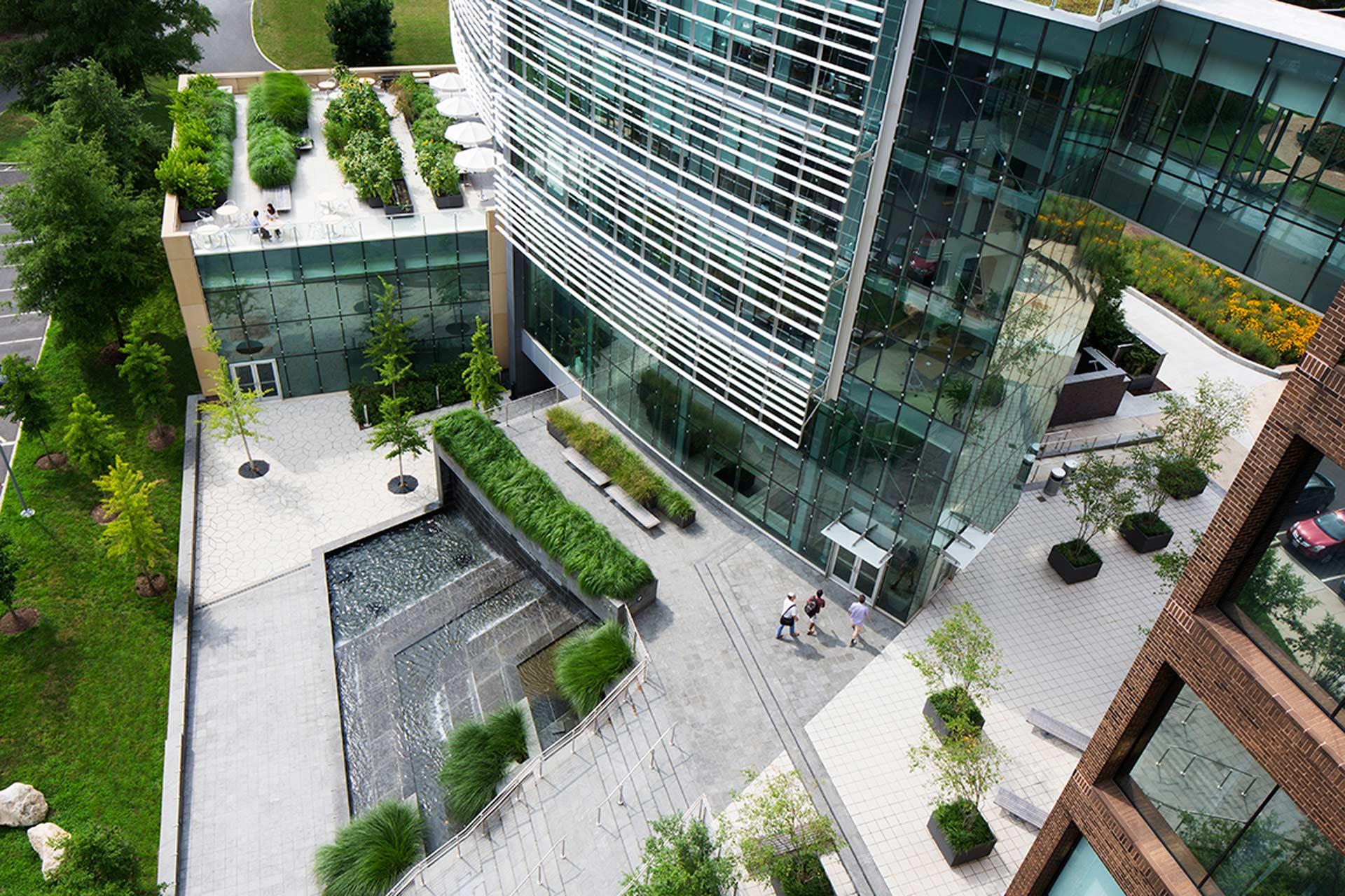 Simons center park dirtworks 13 site plan landscape for Landscape design center