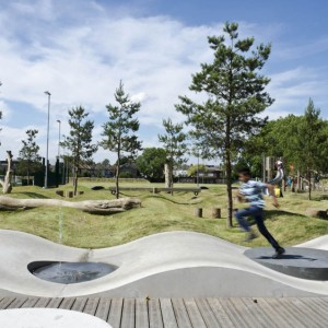 Drapers Field has a strategic role in the Olympic Legacy. This new park in east London is the first project integrating new Olympic developments within the Olympic Park to existing communities. KLA were commissioned to revitalise three parks in Leyton in the east London borough of Waltham Forest, through Olympic Section 106 funds. Working strategically in the Lea Valley on these projects, KLA were responding to the London Legacy Development Corporation's direction to 'Stitch the Fringe' around the Olympic boundary ...