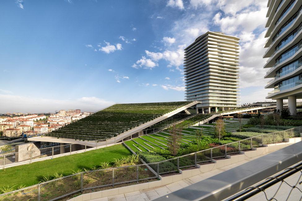 Zorlu center by ds landscape landscape architecture for What do landscape architects do