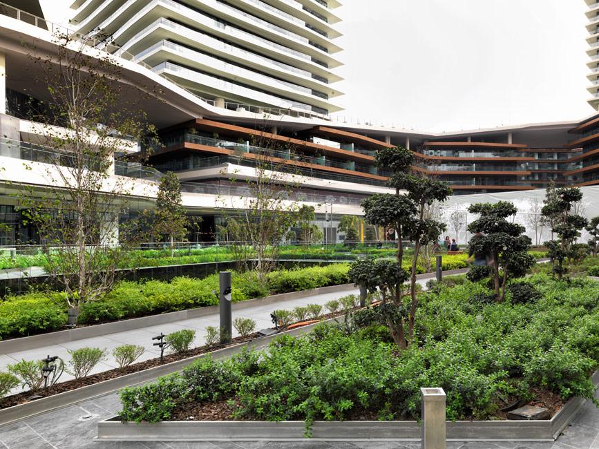 Zorlu Center By DS Landscape Architecture Works