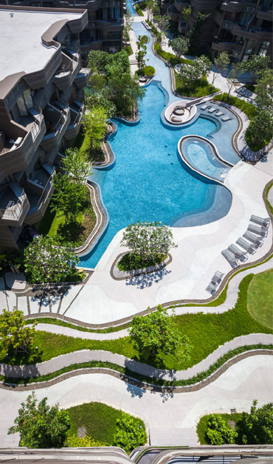 Baan san ngam landscape architects shma 09 landscape for Garden design ideas thailand