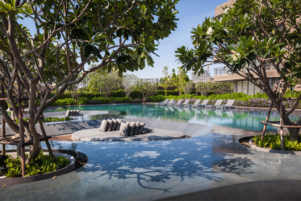 Baan san ngam landscape architects shma 14 landscape for Garden design ideas thailand