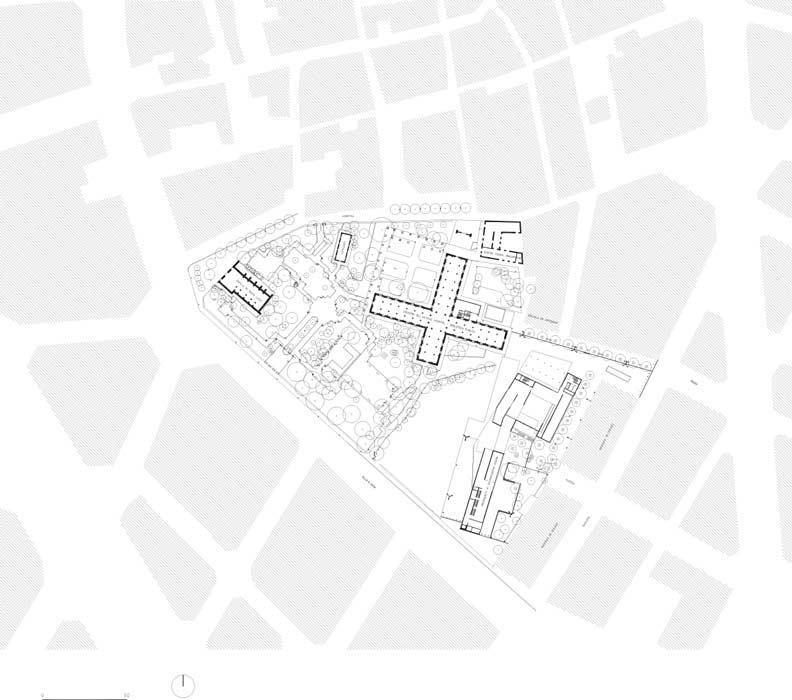 Gardens Of The Hospital In Valencia Landscape Architecture