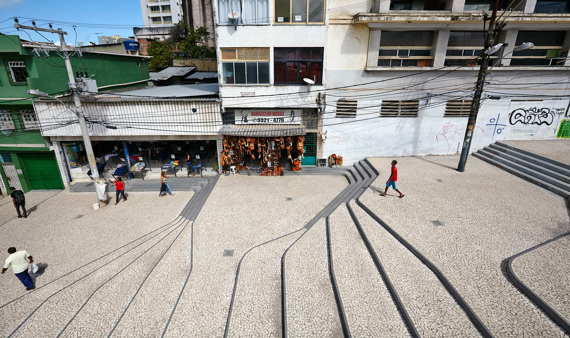 Ladeira Da Barroquinha Urban Staircase Brazil Metro Arquitectos 02 Landscape Architecture Works